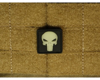 Punisher ghost GID Patch